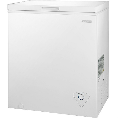 41% off Insignia 5.0 Cu. Ft. Chest Freezer : Only $99.99