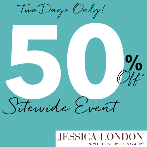 Jessica London : 50% off Regular Price items