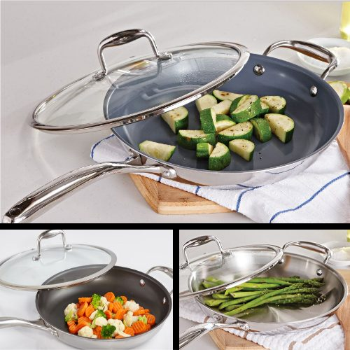 70% off Kung Fu Master 11″ Fry Pans : Only $11.98 + Free S/H