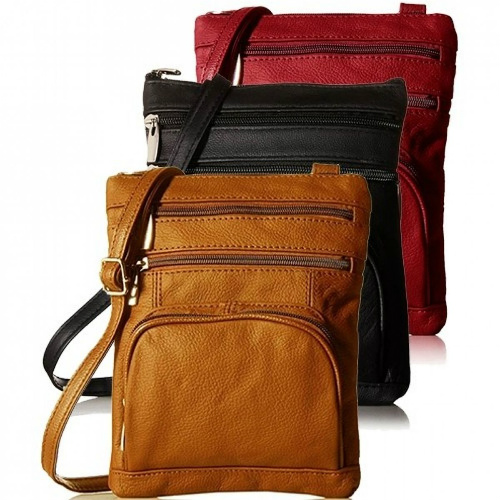 86% off Leather Crossbody Handbags : Only $13.49