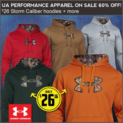 60% off Men's Under Armour Hoodies : Only $26.16 + Free S/H