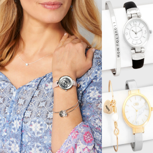 59% off Mom Watch & Bracelet Sets : Only $12.10 + Free S/H