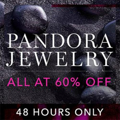 60% off Pandora Jewelry Sale : Items starting at $11.99