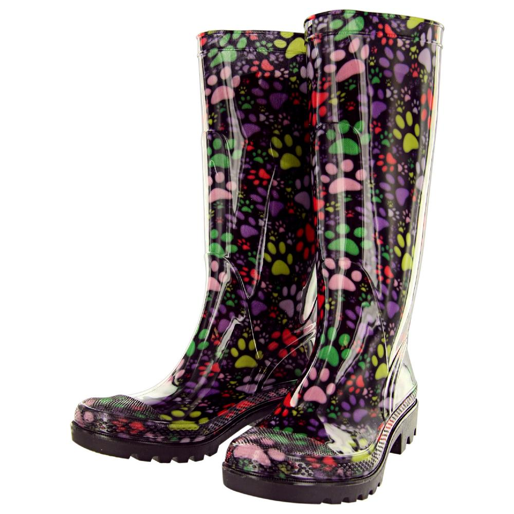 Patterned Rain Boots Cool Inspiration