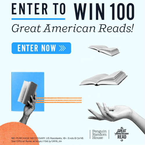 Penguin Random House Sweepstakes : Win 100 Great American Reads