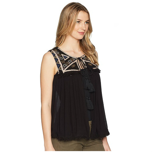 87% off Romeo & Juliet Couture Embroidered Top : Only $19.99