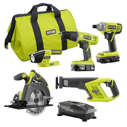 $100 off Ryobi Power Tool Combo Kits : Only $149 + Free S/H