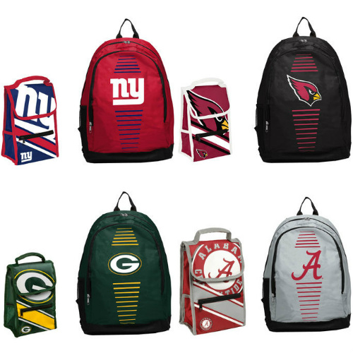 50% off Sports Team Backpack & Lunchbox Sets : Only $23.99 + Free S/H