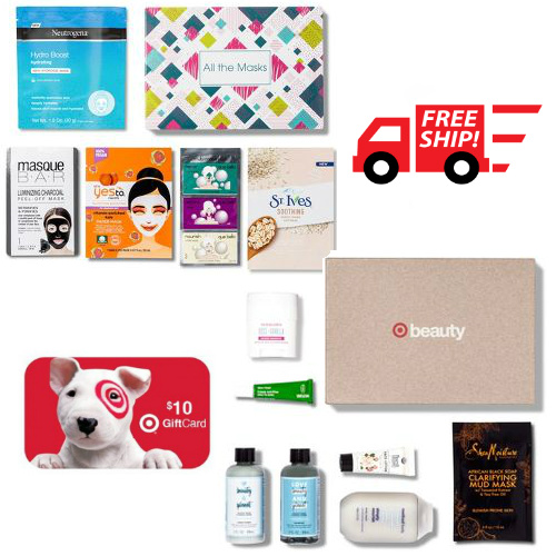 Target Beauty Boxes : Only $7 + Free S/H