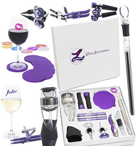64% off Wine Party Wine Accessory Kit : Only $24.99 + Free S/H