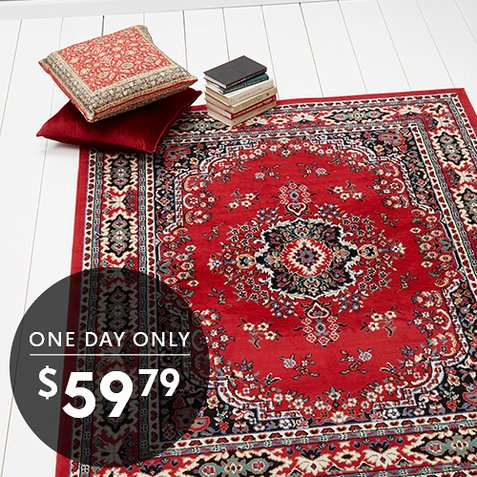 Up to 67% off 8×10 Area Rugs : All Styles Only $59.79