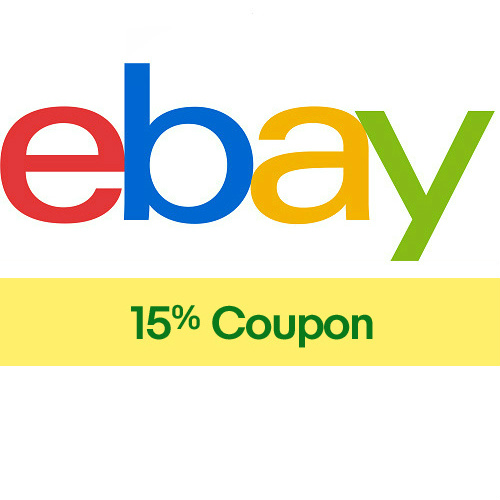Ebay Coupon : 15% off $25 or more
