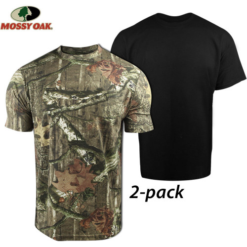 75% off Men's Realtree and Mossy Oak Tees : 2 for $5