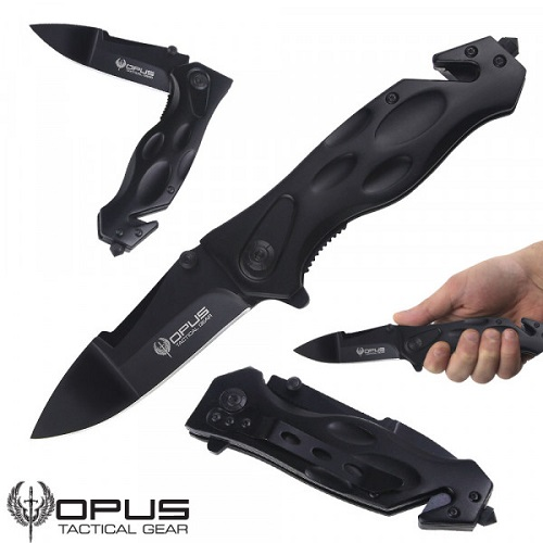 83% off Opus Tactical Gear Knife : Only $10 + Free S/H