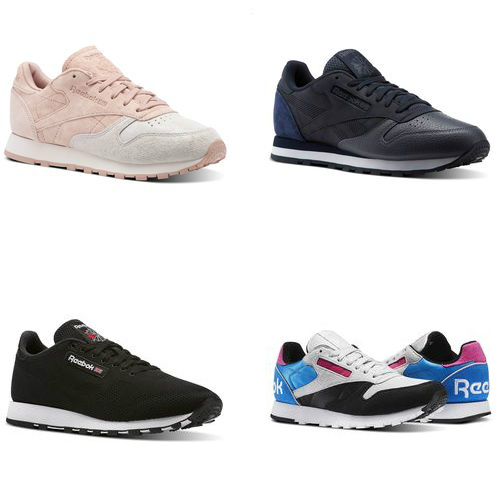 Up to 65% off Classic Leather Reebok Sneakers : Only $34.99 + Free S/H