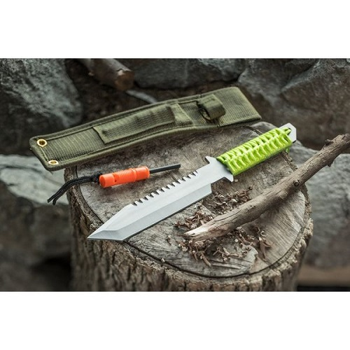 78% off Paracord Survival Camping Knife : Only $6.49 + Free S/H