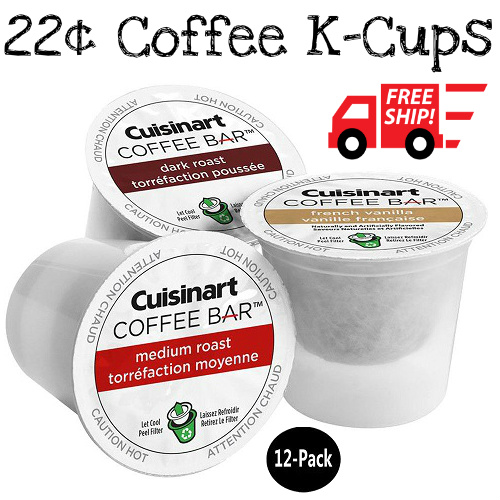 12-PK of Cuisinart Coffee K-Cups : Only $2.69 + Free S/H