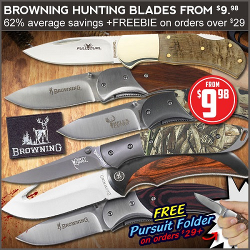 78% off Browning Knives Clearance : Only $9.98