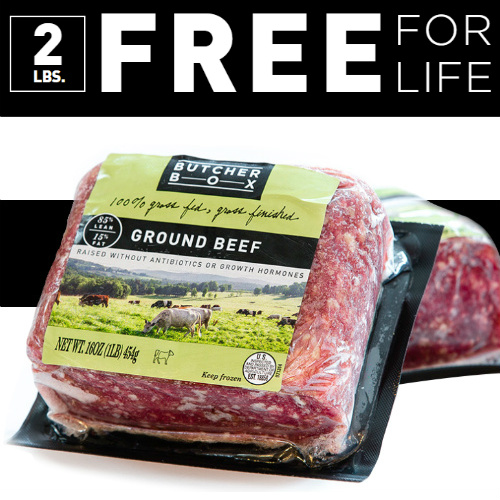 ButcherBox : Free Ground Beef for Life + Free S/H