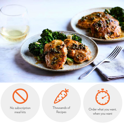 Chef'd : Meal Kit Delivery on your terms + $10 off your 1st order