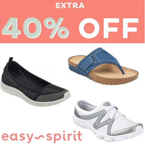 Easy Spirit : Up to 62% off + Extra 40% off Sale Styles
