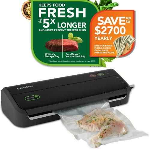 51% off Refurb FoodSaver w/1-YR Warranty : Only $25.99 + Free S/H