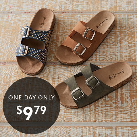 Up to 75% off Knock Off Birkenstocks : All Styles $9.79