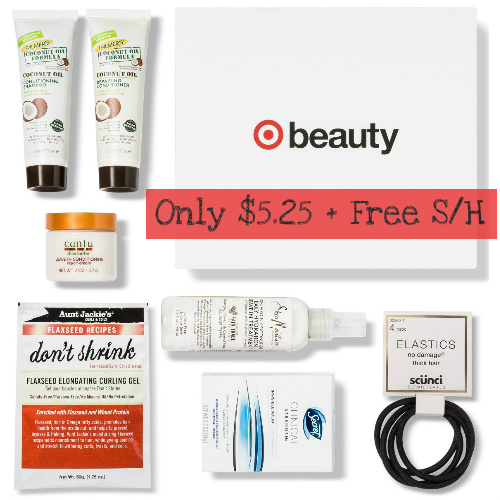 Target Summer Beauty Box : Only $5.25 + Free S/H