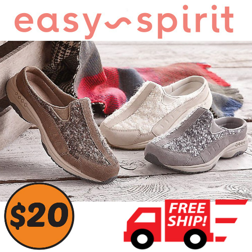 71% off Women's Easy Spirit Traveltime Slip-Ons : Only $19.97 + Free S/H
