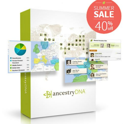 40% off off Ancestry DNA Test : Only $59