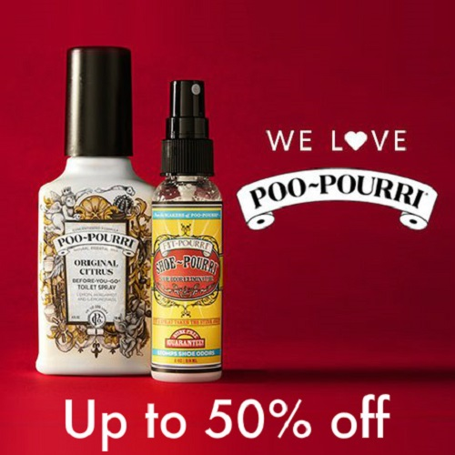 Up to 50% off Poo-Pourri : Starting at $7.99