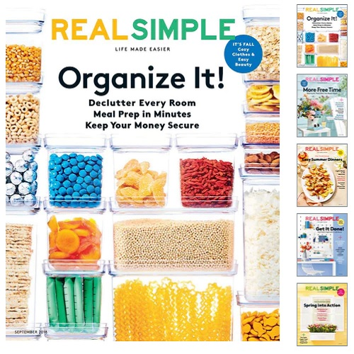 65% off Real Simple Magazine Subscription : Only $6.99