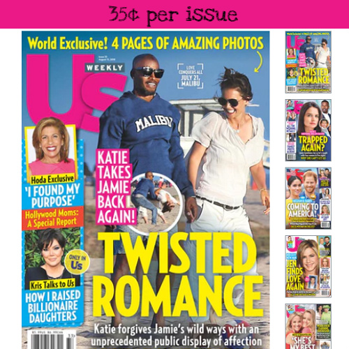 73% off US Weekly Subscription : Only $17.99