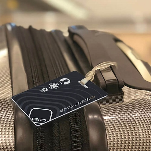 37% off Endless ID Luggage Tag : Only $12.59 + Free S/H