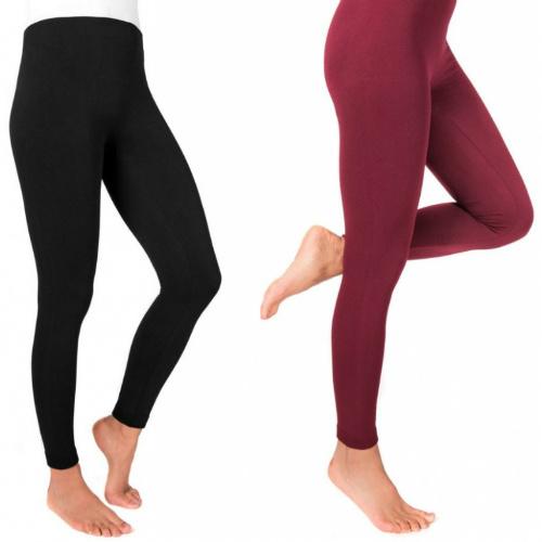 55% off Women's Muk Luks Fleece Lined Leggings : Only $8.09 + Free S/H