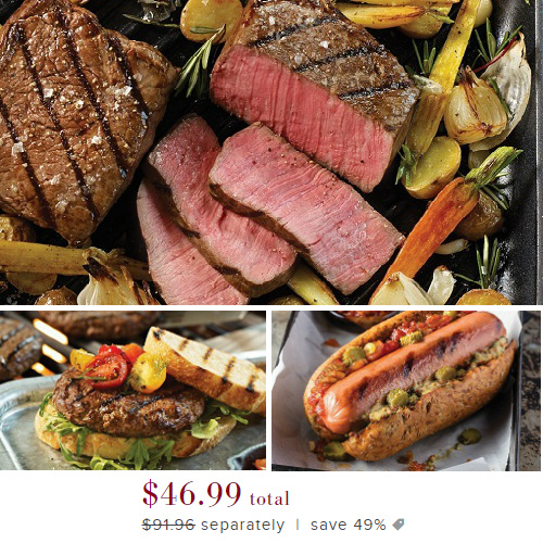 49% off Omaha Steaks Family Grilling Pack : Only $46.99 + Free S/H