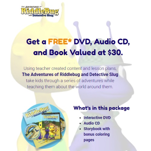83% off Riddlebug DVD, Audio CD and Book : Only $5.99 Shipped