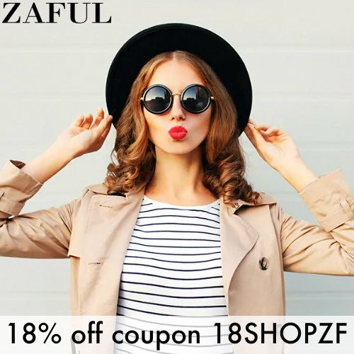 Zaful Coupon : 18% off any order