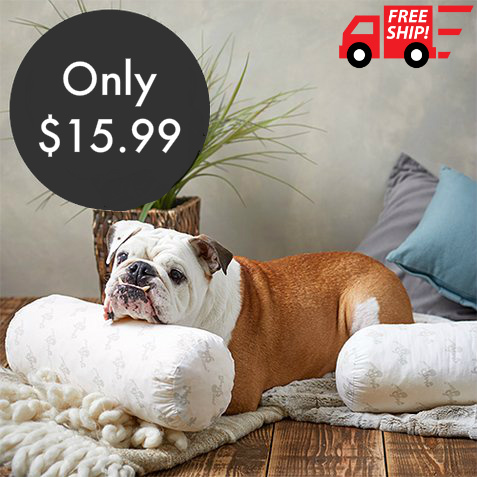 44% off MyPillow Bolster Pillow : Only $15.99 + Free S/H