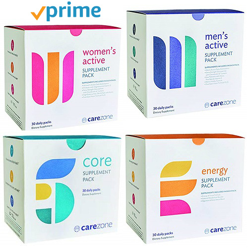 50% off 30-CT CareZone Daily Vitamin & Supplement Packs : Only $12.49 & $14.99