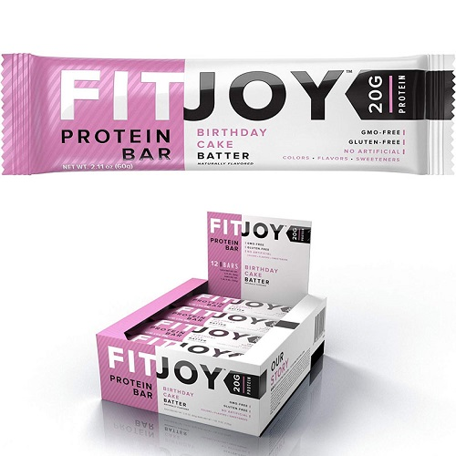 75% off 24-Pk of FitJoy Protein Bars : Only $17.76 + Free S/H