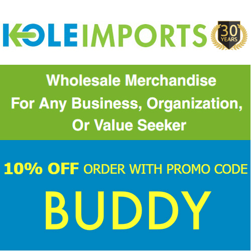 Kole Imports Coupon : 10% off any order