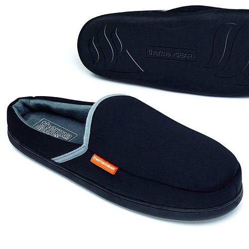 66% off Men's Heated Slippers : Only $11.99 + Free S/H