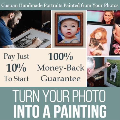 Paint Your Life Coupon : $60 off + Free Frame + Free S/H
