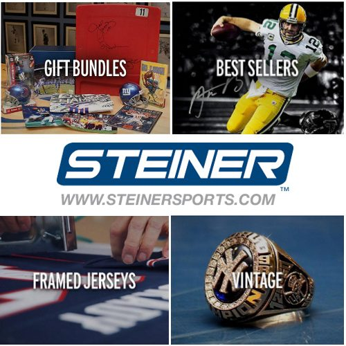 Steiner Sports Coupon : 21% off $100 or more