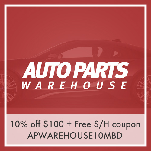 Auto Parts Warehouse Coupon : 10% off $100 or more + Free S/H
