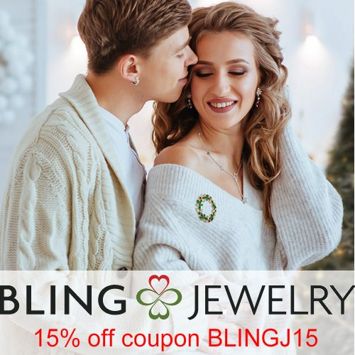 Bling Jewelry Coupon : 15% off any order