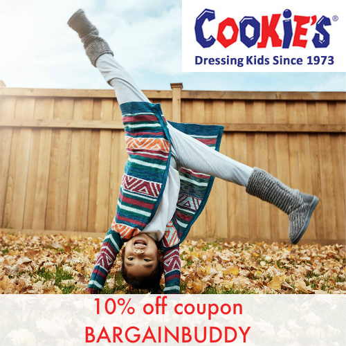 Cookie's Kids Coupon : 10% off any order