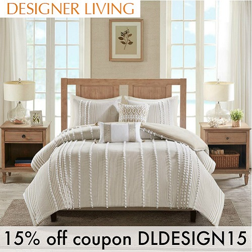 Designer Living Coupon : 15% off any order