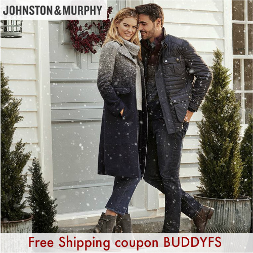 Johnston & Murphy Coupon : Free Shipping on any order